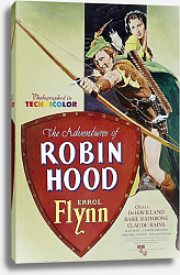 Постер Poster - Adventures Of Robin Hood