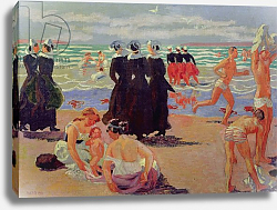 Постер Денис Морис Bathing at the Pardon of Sainte-Anne-la-Palud, 1905