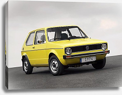 Постер Volkswagen Golf 3-door (I) '1974–83