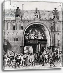 Постер Школа: Фламандская 16в. Entry of Hercule Francois of France, Duke of Alencon into Antwerp, 19th February 1582