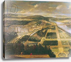 Постер Аллегрен Этьен View of the Chateau and Gardens of St. Cloud,