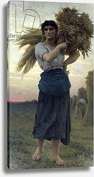 Постер Бретон Жюль The Gleaner, 1877