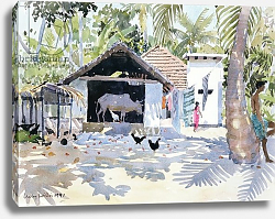 Постер Виллис Люси (совр) The Backwaters, Kerala, India, 1991