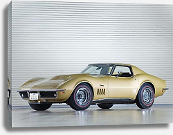 Постер Corvette Stingray L88 427 ''Automatically Yours'' Coupe (C3) '1969
