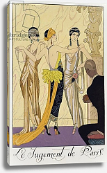 Постер Барбье Джордж The Judgement of Paris, 1920-30