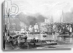 Постер Балмер Джордж Newcastle-upon-Tyne, engraved by Edward Finden