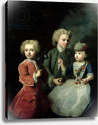 Постер Деннер Бальтазар The Children of Councillor Barthold Heinrich Brockes