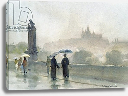 Постер Чемберлейн Тревор (совр) Umbrellas, Charles Bridge, Prague