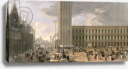 Постер Карлеварис Лука View of Piazza San Marco, Venice, c.1726