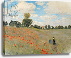 Постер Моне Клод (Claude Monet) Wild Poppies, near Argenteuil, 1873 2