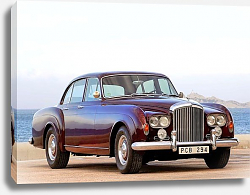 Постер Bentley S3 Continental Flying Spur Saloon by Mulliner '1963