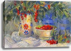 Постер Уэльс Сью (совр) Red currants, 1998,