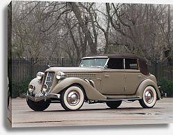 Постер Auburn 851 SC Convertible Sedan '1935