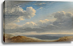 Постер Валенсьен Пьер Study of Clouds over the Roman Campagna c.1782-85