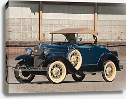 Постер Ford Model A Deluxe Roadster '1931