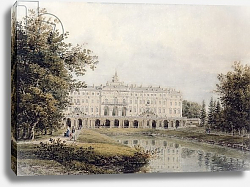 Постер Мейер Егор View of the Great Palace of Strelna near St. Petersburg, 1841