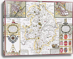 Постер Спид Джон The County of Warwick, the Shire Town and the City of Coventry, 1611-12