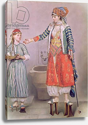 Постер Лиотард Йен Turkish Woman with her Servant