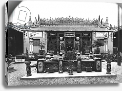 Постер Гирадон Адольф (фото, фр) The Chinese Pavilion at the Universal Exhibition of 1889 in Paris