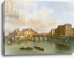 Постер Канелла Джузеппе The Pont Neuf, Ile de la Cite, Paris Mint and Conti Quay, 1832