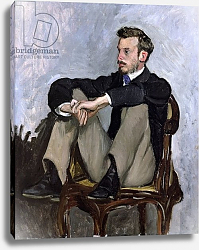 Постер Базиль Жан Portrait of Auguste Renoir, 1867