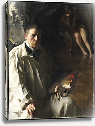 Постер Цорн Андерс Self-portrait, 1896
