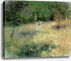 Постер Ренуар Пьер (Pierre-Auguste Renoir) Spring at Chatou, c.1872-5