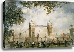 Постер Уиллис Ричард Tower Bridge: From the Tower of London