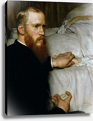 Постер Альма-Тадема Лоуренс (Lawrence Alma-Tadema) Portrait of Dr Washington Epps, My Doctor, May 1885