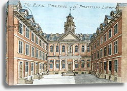 Постер Модерн Робер (грав) The Royal College of Physicians, c.1700
