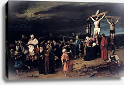 Постер Мункачи Михай Christ on the Cross, 1884