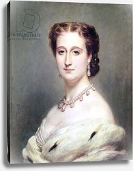 Постер Винтерхальтер Франсуа Portrait of the Empress Eugenie