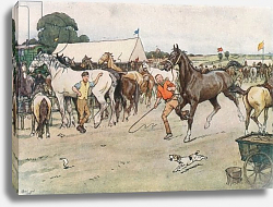 Постер Алдин Сесил A Horse Fair . . . 'There was a Great Deal of Bargaining, Running Up, and Beating Down'