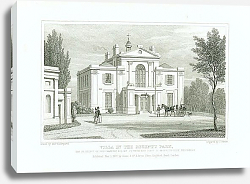 Постер Villa in the Regents Park 2