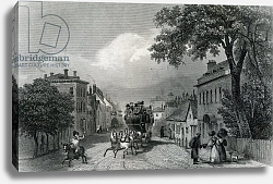 Постер Шампьон Джордж (грав) Witham, Essex, engraved by William Watkins, c.1832
