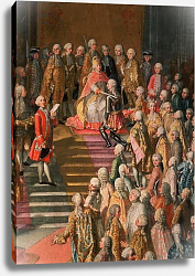 Постер Мейтенс Мартин The Investiture of Joseph II Emperor of Germany in Frankfurt Cathedral, 1764