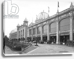 Постер Гирадон Адольф (фото, фр) View of the Palais des Beaux-arts, Universal Exhibition, Paris, 1889