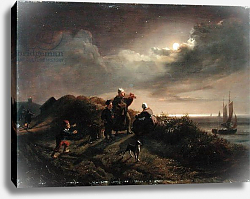 Постер Дженслер Якоб On the Coast near Scheveningen, 1842