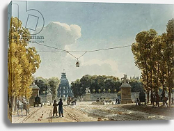 Постер Ваузель Джон A View of the Tuileries from the Champs-Elysees,