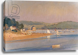 Постер Чемберлейн Тревор (совр) Warm Summer evening, Cornwall, 1987