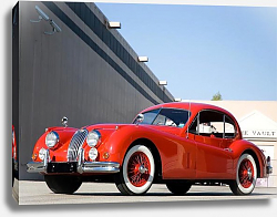Постер Jaguar XK140 Fixed Head Coupe '1954–57