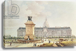 Постер Николле Виктор (грав) View of the Hotel des Invalides