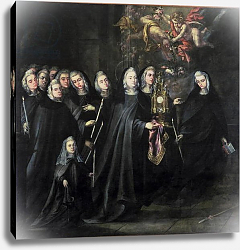 Постер Вальдес Леаль Procession of St. Clare with the Eucharist