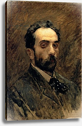 Постер Левитан Исаак Self Portrait, 1890s