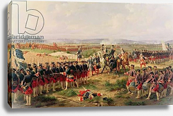 Постер Филипотекс Анри Battle of Fontenoy, 11 May 1745: the French and Allies confronting each other