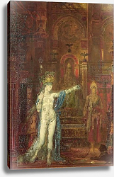 Постер Моро Густав Salome Dancing Before Herod, c.1874