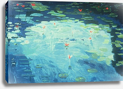 Постер Миши Давид (совр) The Waterlily Pond, 1994