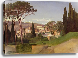 Постер Бенувиль Жан View of a Roman Villa, 1844