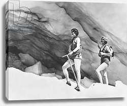 Постер Climbing In Bathing Suits, United States, c.1928