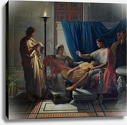 Постер Ингрес Джин Virgil Reading the Aeneid to Livia, Octavia and Augustus, c.1812